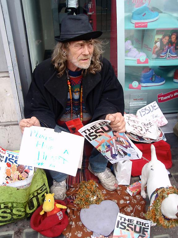 Jani Leinonen: Kerjäläiskyltit (Beggar signs) (2009–)